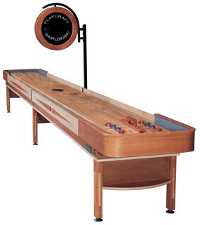 Playcraft TELLURIDE Shuffleboard Table - 14 foot - Honey