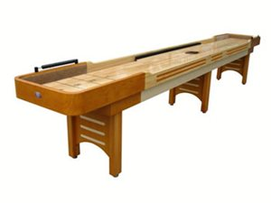 Playcraft 16 COVENTRY Shuffleboard Table - Honey
