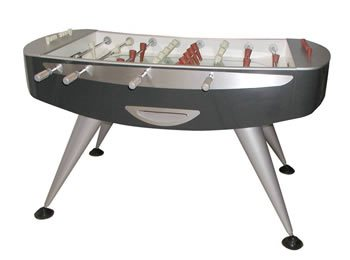 Garlando Limited Edition Lusso Foosball Table - Carbon Effect