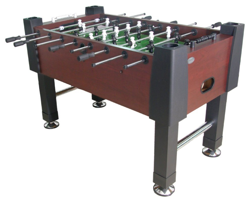 Berner Player Foosball Table - Mahogany