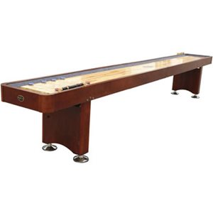 Playcraft 12 GEORGETOWN Shuffleboard Table - Cherry Finish