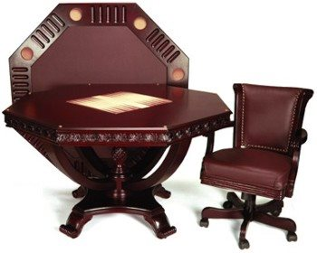 Imperial 3 in 1 Game Table Set - Mahogany