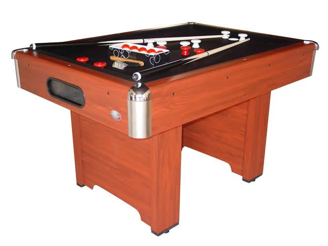 Playcraft Hartford Slate Bumper Pool Table - Cherry