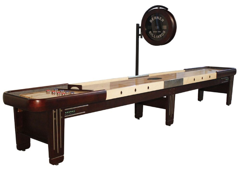 Berner Billiards Retro 18 Shuffleboard Table