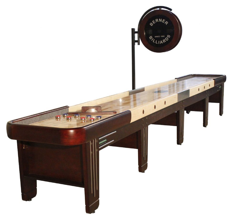 Berner Billiards Retro 20 Shuffleboard Table