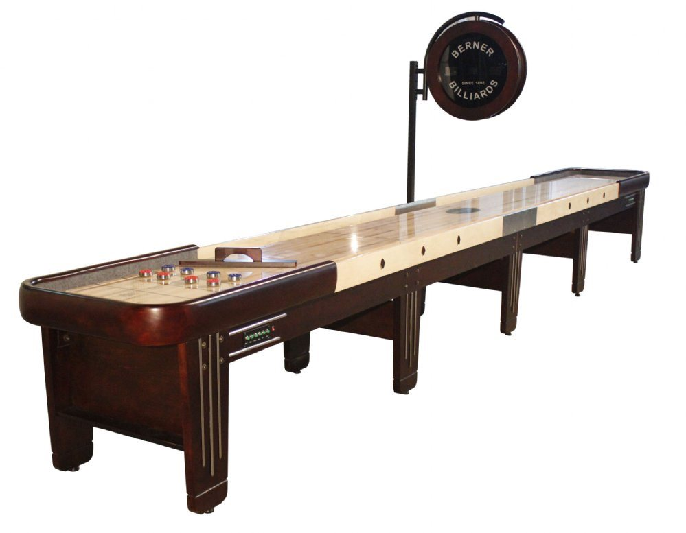 Berner Billiards Retro 22 Shuffleboard Table