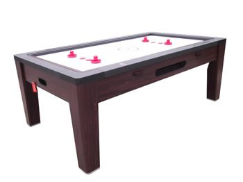Berner 6 N 1 Combination Game Table - Walnut