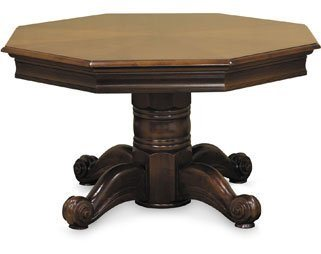 Imperial 2N1 Combination Game Table - Honey Finish