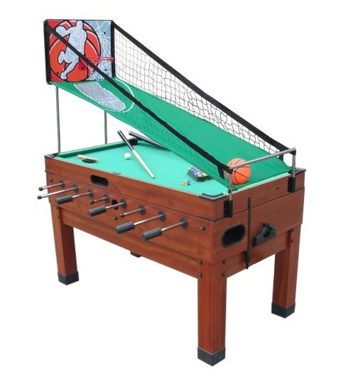 Playcraft Danbury 14N1 - Cherry Combination Game Table