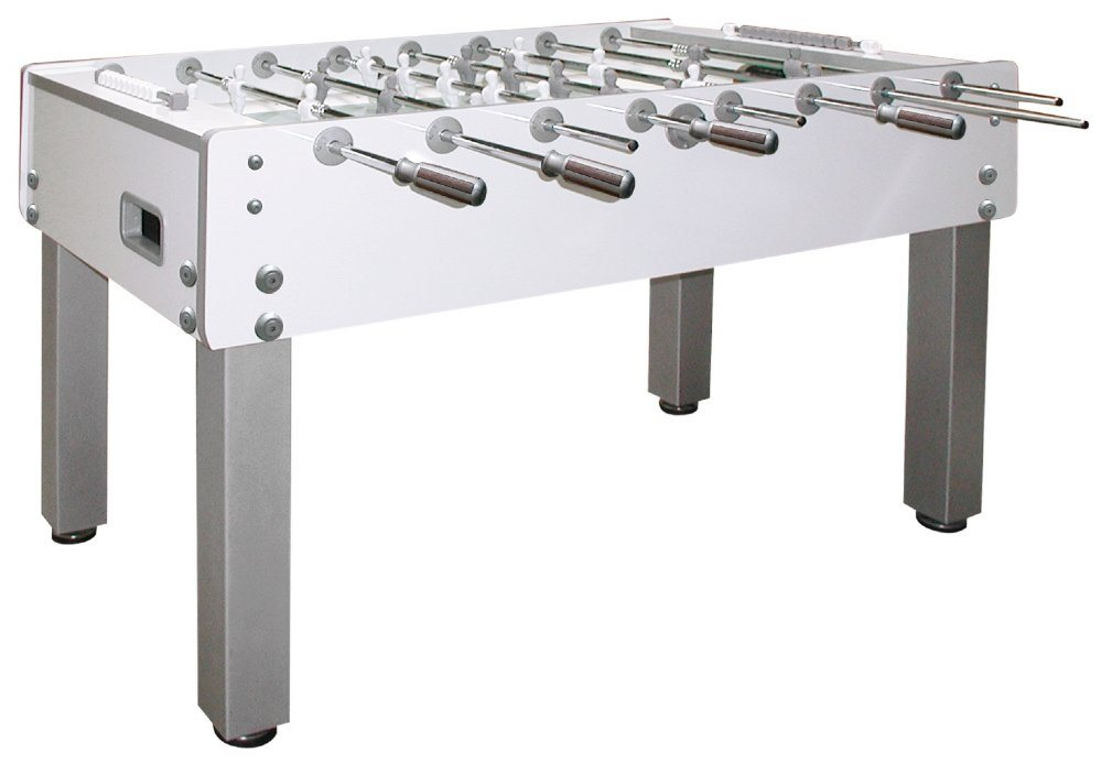 Garlando G-500 Pure White Indoor Foosball Table