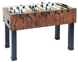 Garlando G-500 Briar Wood Foosball Table