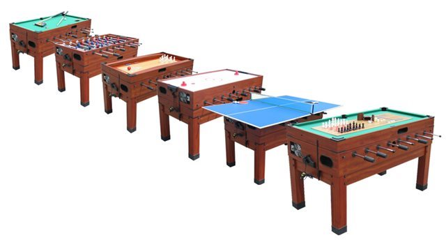 Playcraft 14N1 Combination Game Table – Cherry Finish