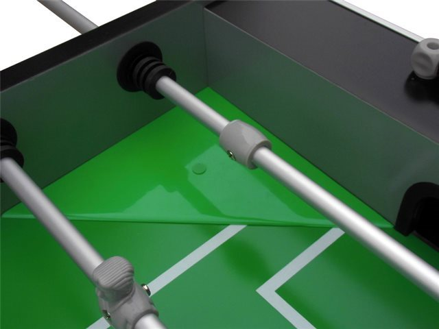 Berner Billiards FLORIDA Foosball Table with one or three man goalie - Black