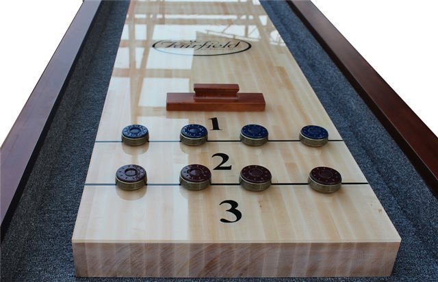 12' Charles River Pro Style Shuffleboard Table Playcraft