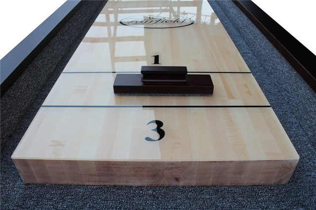 16' St. Lawrence Pro Style Shuffleboard Table