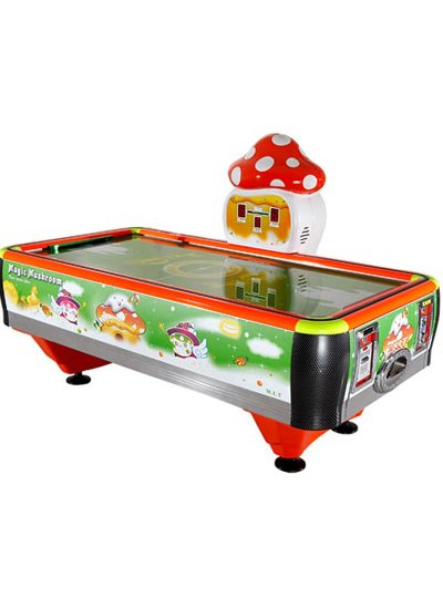Barron Games MAGIC MUSHROOM Redemption Air Hockey Table
