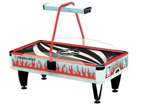 Barron Games CHALLENGER NEON Redemption Air Hockey Table