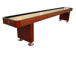 Playcraft 9 WOODBRIDGE Shuffleboard Tables - Cherry Finish