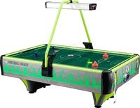 Barron Games GREEN FOOTBALL FRENZY Redemption Air Hockey Table