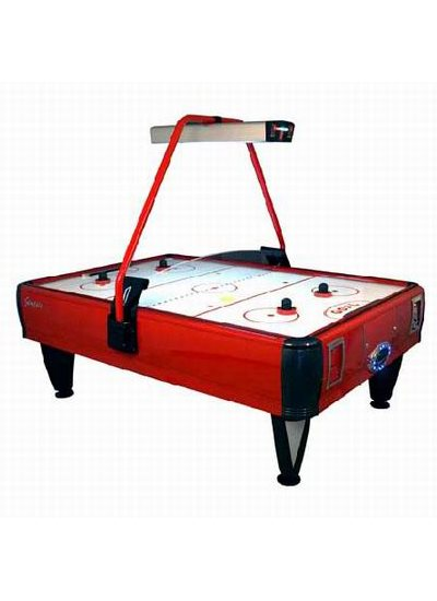 Barron Games GENESIS 4-Player Redemption Air Hockey Table