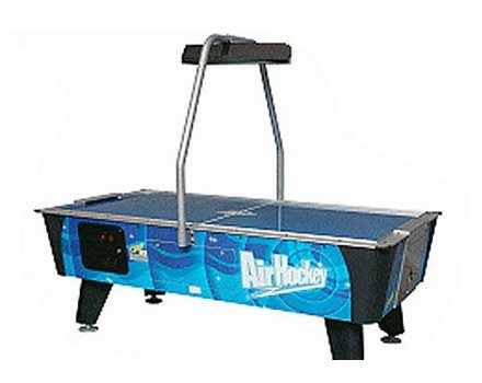 Valley-Dynamo Blue Streak Coin Air Hockey Table w/overhead scoring