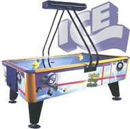 ICE Slapshot Mini w/overhead - SST Air Hockey Table