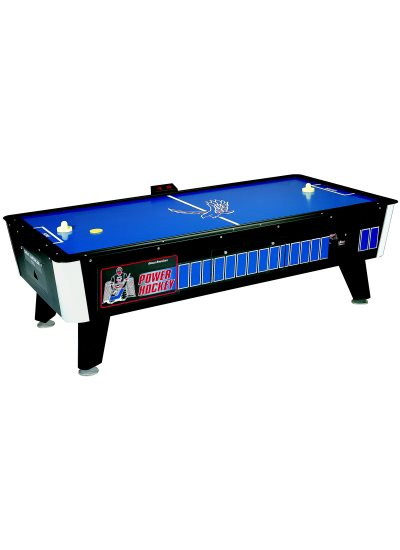 Great American 8 Foot Face Off Power Hockey with Side Electronic Scorer