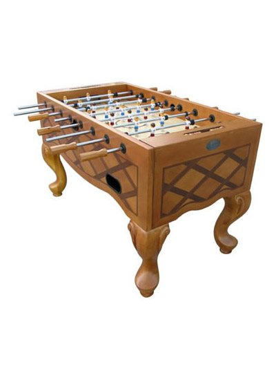 Berner QUEEN ANNE Foosball Table - Honey Finish