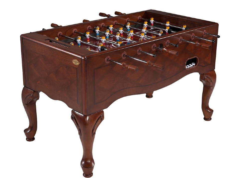 Berner QUEEN ANNE Foosball Table - Walnut Finish