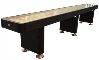 Playcraft 16 WOODBRIDGE Shuffleboard Tables - Espresso Finish
