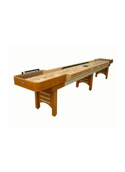 Playcraft 9 COVENTRY Shuffleboard Table - Honey Finish