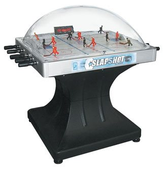 SHELTI Blue Line SLAPSHOT Stick Hockey Table
