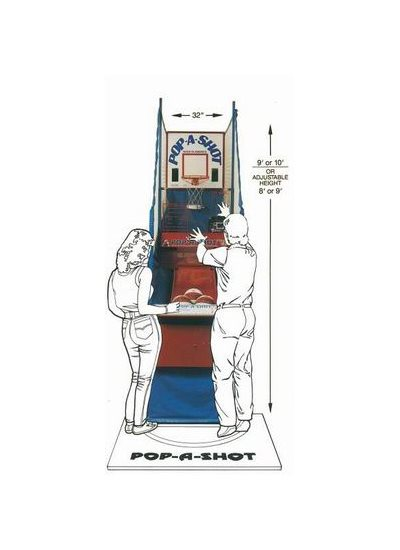 POP-A-SHOT Coin-Operated Basketball Game