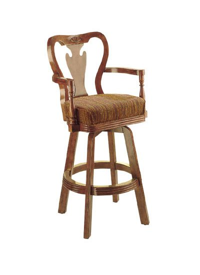 HJ Scott QUEEN ANN DESIGN Bar Stool