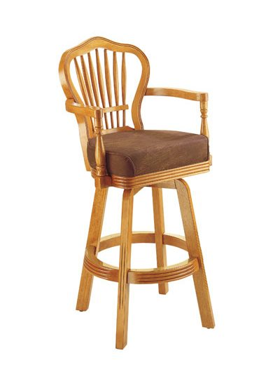 HJ Scott WHEAT BACK DESIGN Bar Stool