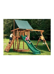 Oasis Outdoor Wooden Playset 1