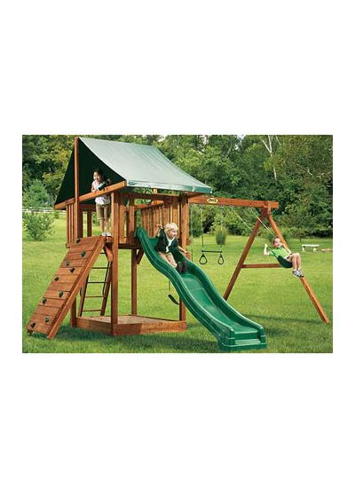 Oasis Outdoor Wooden Playset 2
