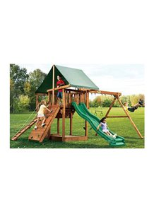 Oasis Outdoor Wooden Playset 3