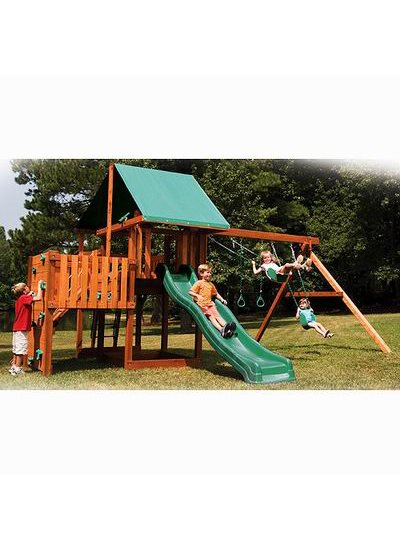 Oasis Outdoor Wooden Playset 4