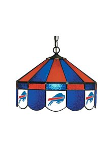 Buffalo Bills Stained Glass Pub Light