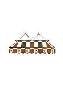 Cleveland Browns Rectangular Stained Glass Billiard Lamp