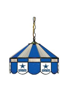 Dallas Cowboys Stained Glass Pub Light