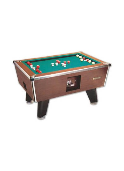 Great American Coin-Operated Bumper Pool Table
