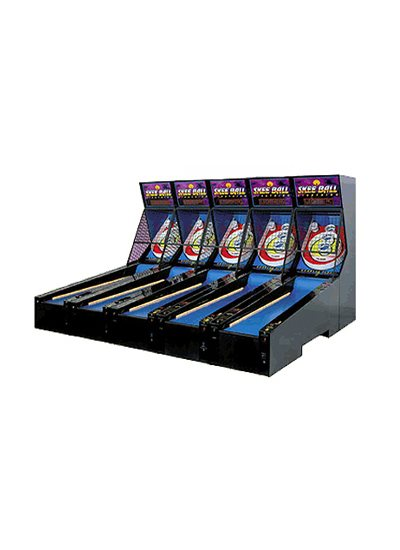 Skeeball Lightning Arcade Game