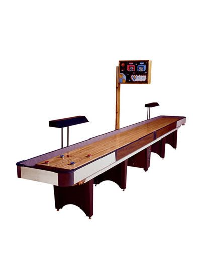 Venture Shuffleboard Coin-Operated Classic 12et#8217; Shuffleboard Table