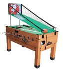Playcraft Danbury 14N1 - Honey Combination Game Table