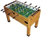 Berner Premium Foosball Table - Butcher Block -3-man goalie