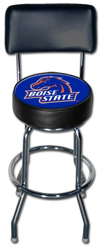 Boise State Broncos Bar Stool w/backrest