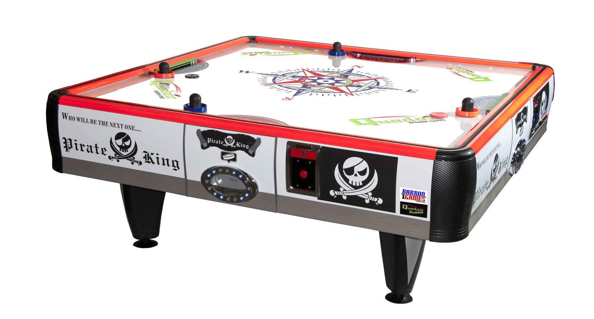 Barron Games QUAD AIR Redemption Air Hockey Table