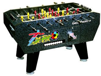 Great American Action Coin-Operated Foosball Table